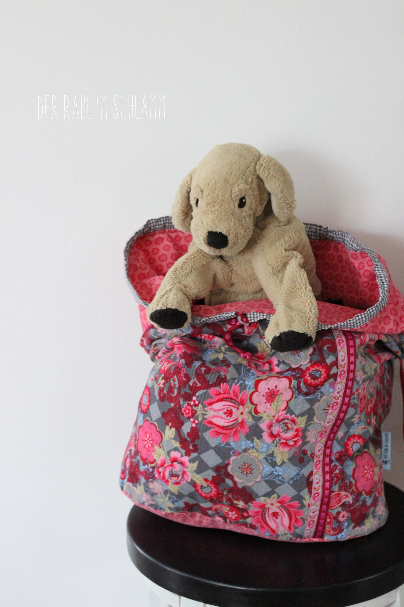 Der Rabe im Schlamm, Adventskalendertasche, Farbenmix, Packs ein, Nähen, Taschen