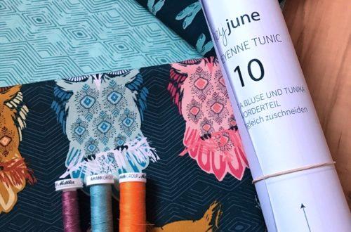 Der Rabe im Schlamm, Blusen Sew Along, Cheyenne Tunic, Art Gallery Fabrics, Nähen, Schnittmuster, Damen