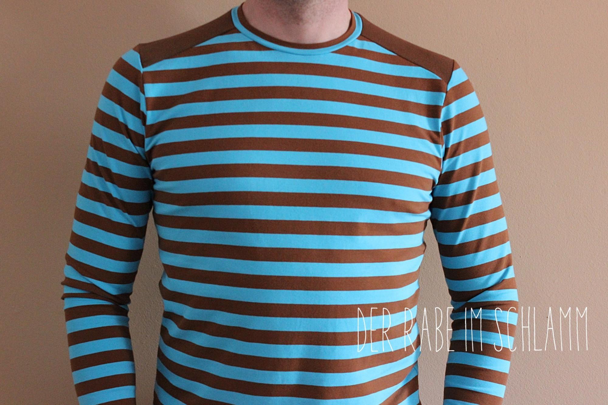 Föhr, schnittreif, Shirt, Der Rabe im Schlamm, Nähen, Schnittmuster, Herren, Männer