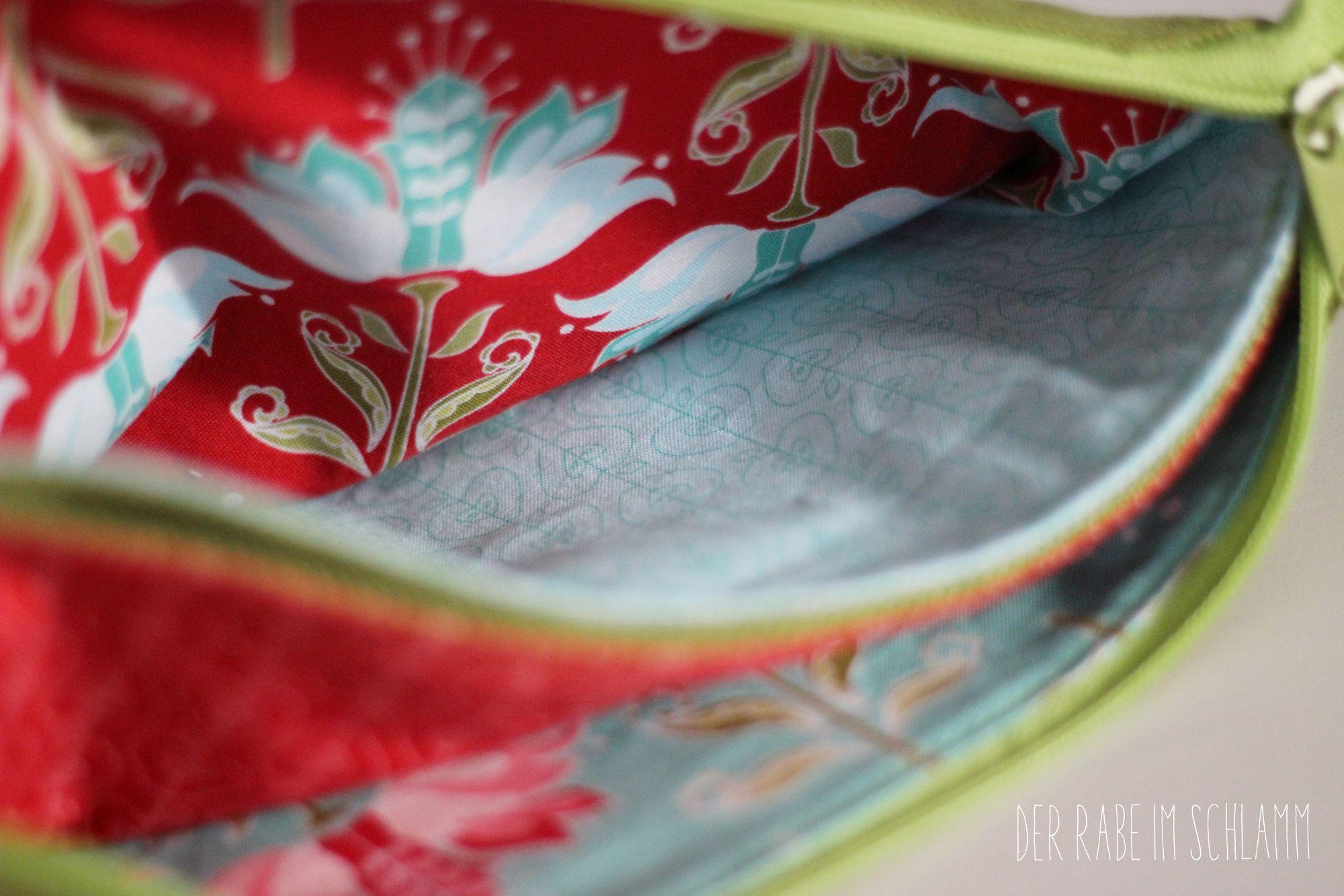 Der Rabe im Schlamm, Nähen, Taschen,  Fünf-Fach-Organizer, Geschenk
