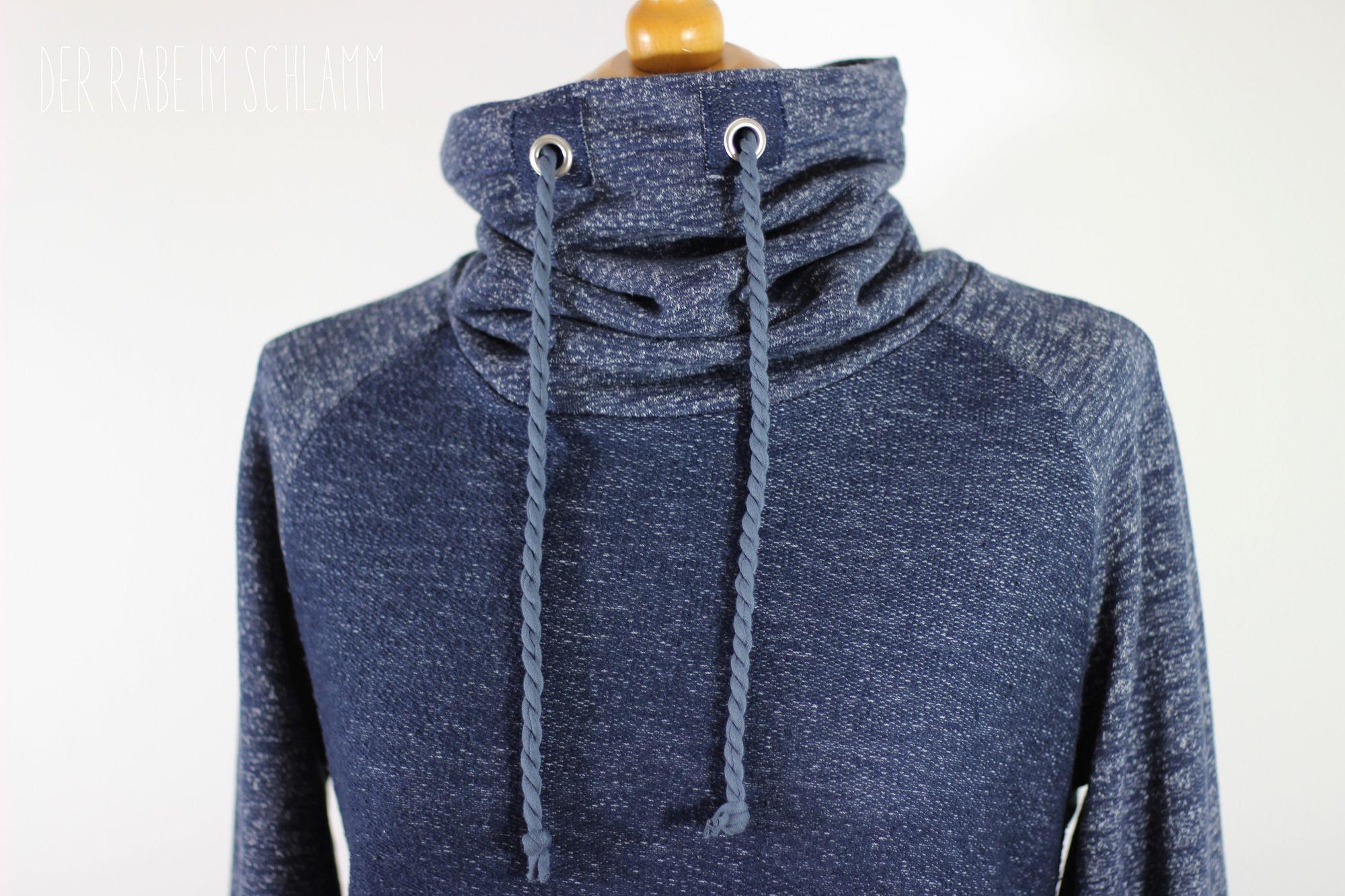 Miro Lady, Hoodie, Sweater, Der Rabe im Schlamm, Nähen, Damen, Schnittmuster