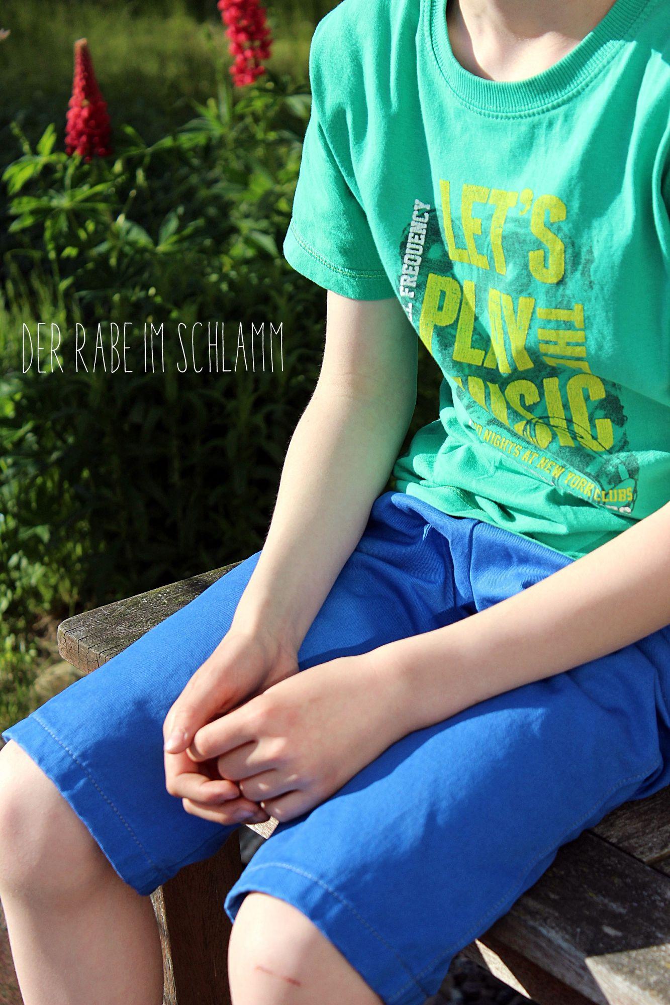 Jeans Henri, farbenmix, Der Rabe im Schlamm, Nähen, Schnittmuster, Kinder, Jungen