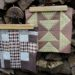 Der Rabe im Schlamm, Quiltblock, Mod Tartan, Time Lapse, Patchwork, Quilt, Fall Block Party, fabricdotcomblockparty