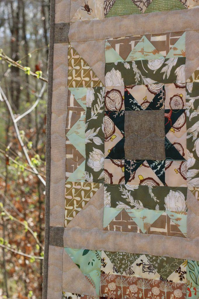 Art Gallery Fabrics Essex Linen Der Rabe im Schlamm