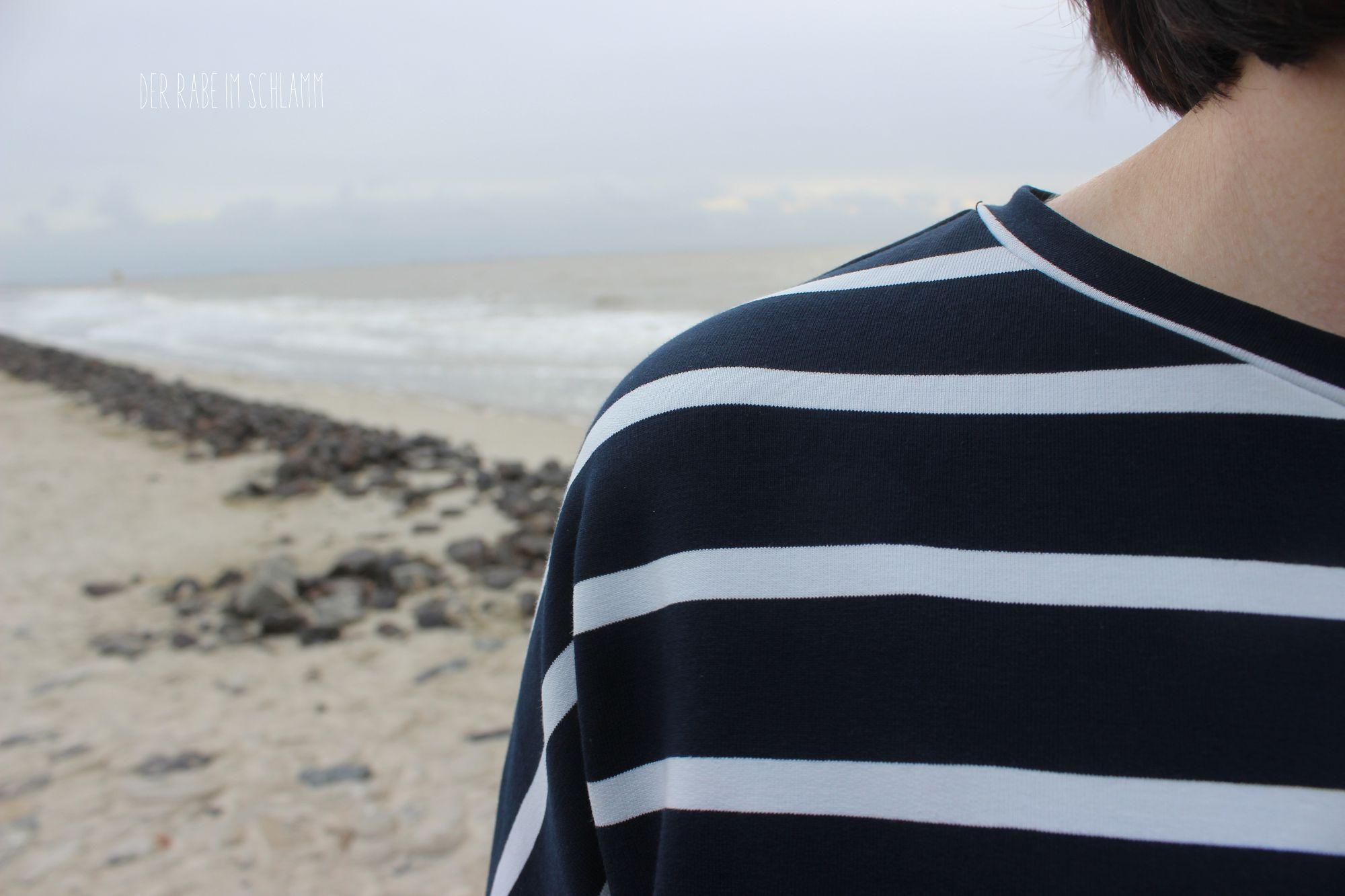 Der Rabe im Schlamm, Oversize, Nähen, Nosh, Sweatshirt, Ringelshirt, Stoff&Stil, Schnittmuster, Damen