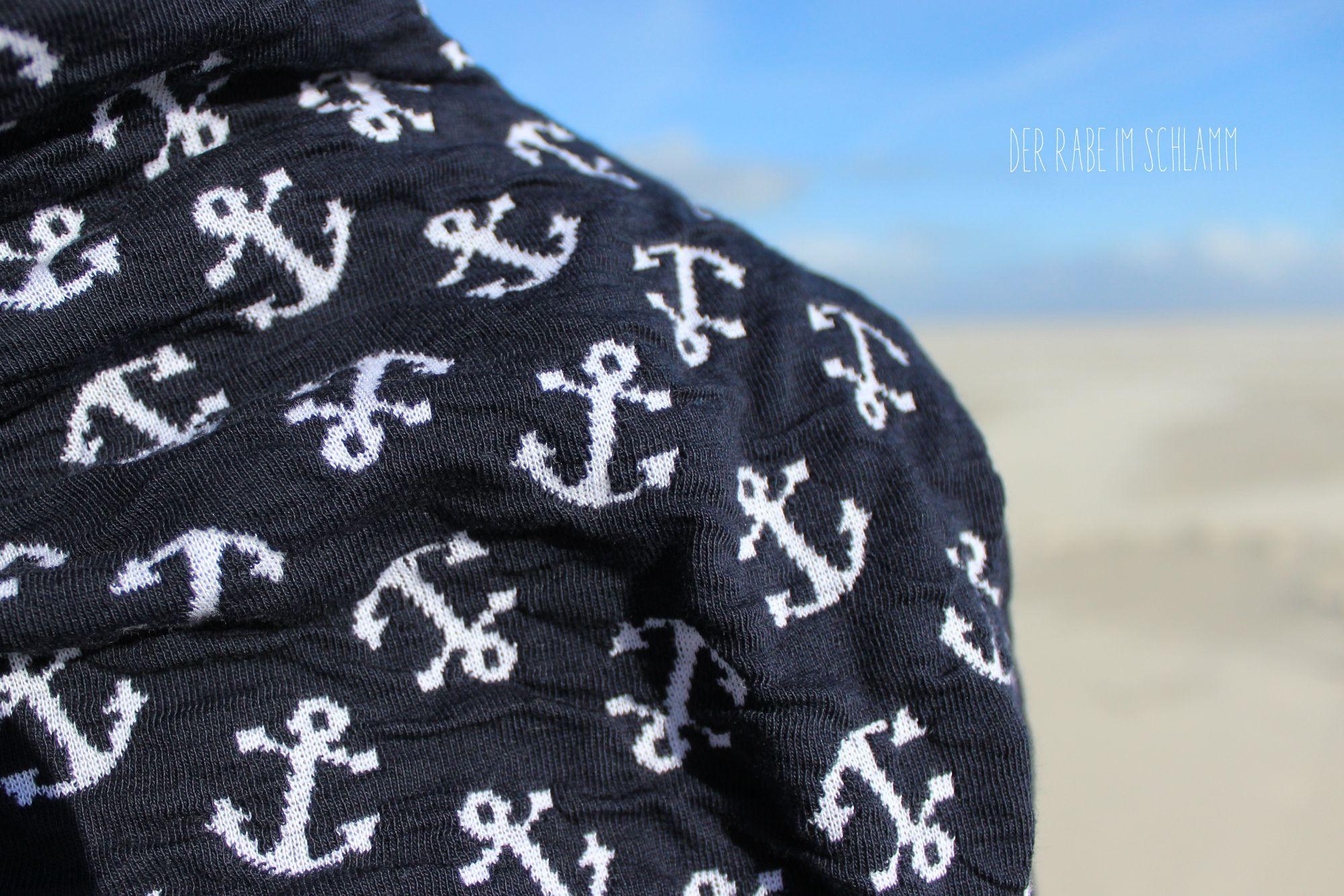 Der Rabe im Schlamm, Pullover, Stoff & Stil, Hamburger Liebe, Sea Breeze Harbour, Jacquard, Schnittmuster, Damen, Nähen