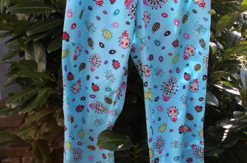 Pyjamahose, Schlafanzugshose, Burda., Der Rabe im Schlamm, Nähen, Schnittmuster, Damen
