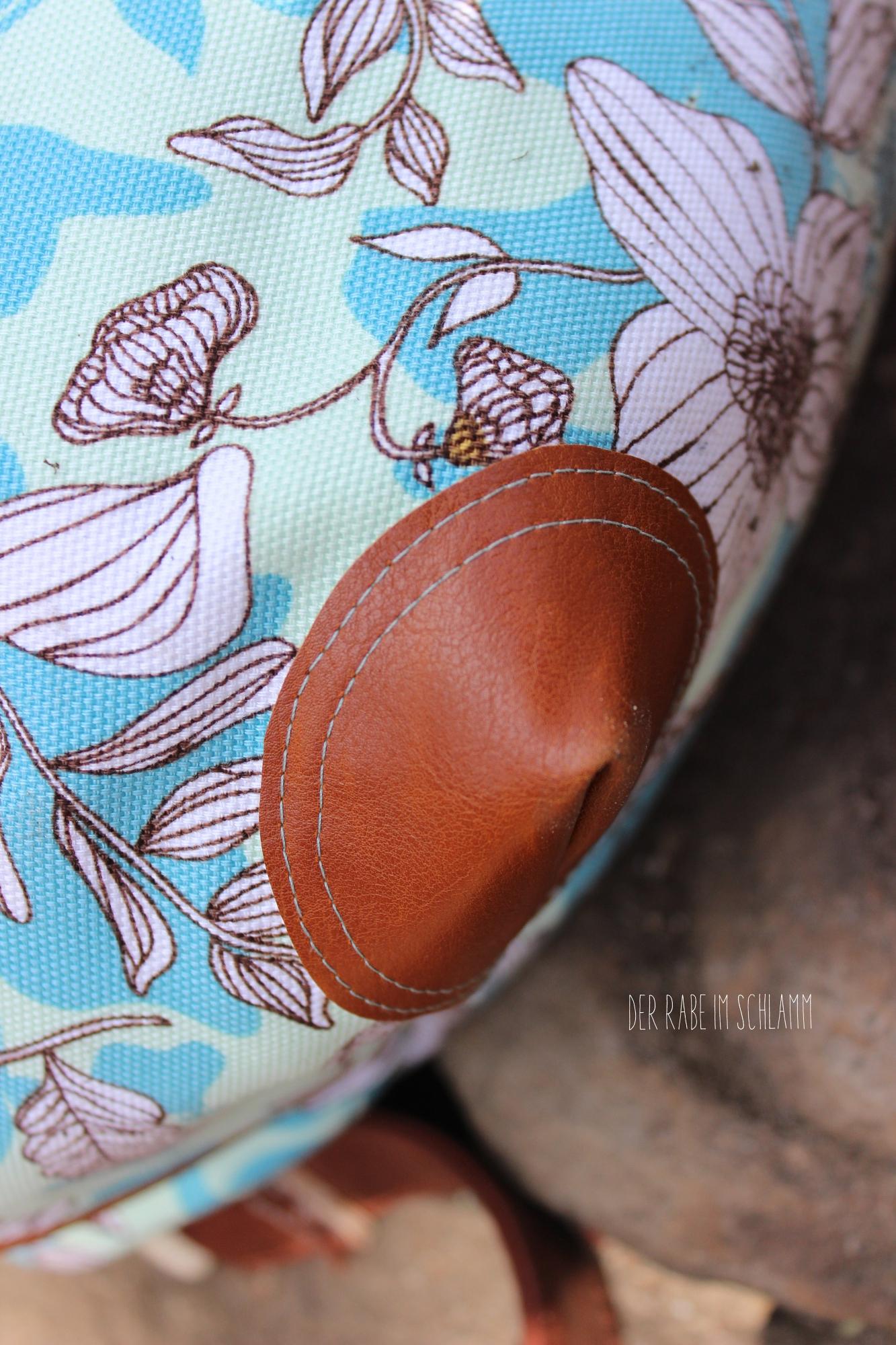 Der Rabe im Schlamm, Rucksack Hope, Canvas Cultivate, Art Gallery Fabrics, Nähen, Tasche