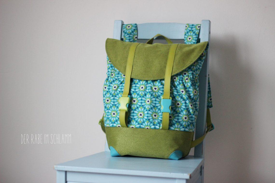 Der Rabe im Schlamm, Nähen, Taschen, Rucksack Pakke