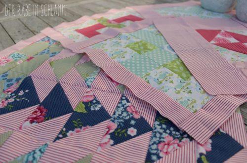 Der Rabe im Schlamm, Sewcial Bee Sampler, Tilda, Quiltblock, Quilt, Patchwork, Sewing