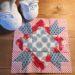 Der Rabe im Schlamm, Sewcial Bee Sampler, Quilt, Quiltblock, Tilda
