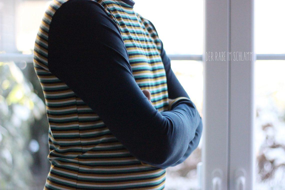 Der Rabe im Schlamm, Föhr, Shirt, schnittreif, Nähen, Schnittmuster, Herren, Männer