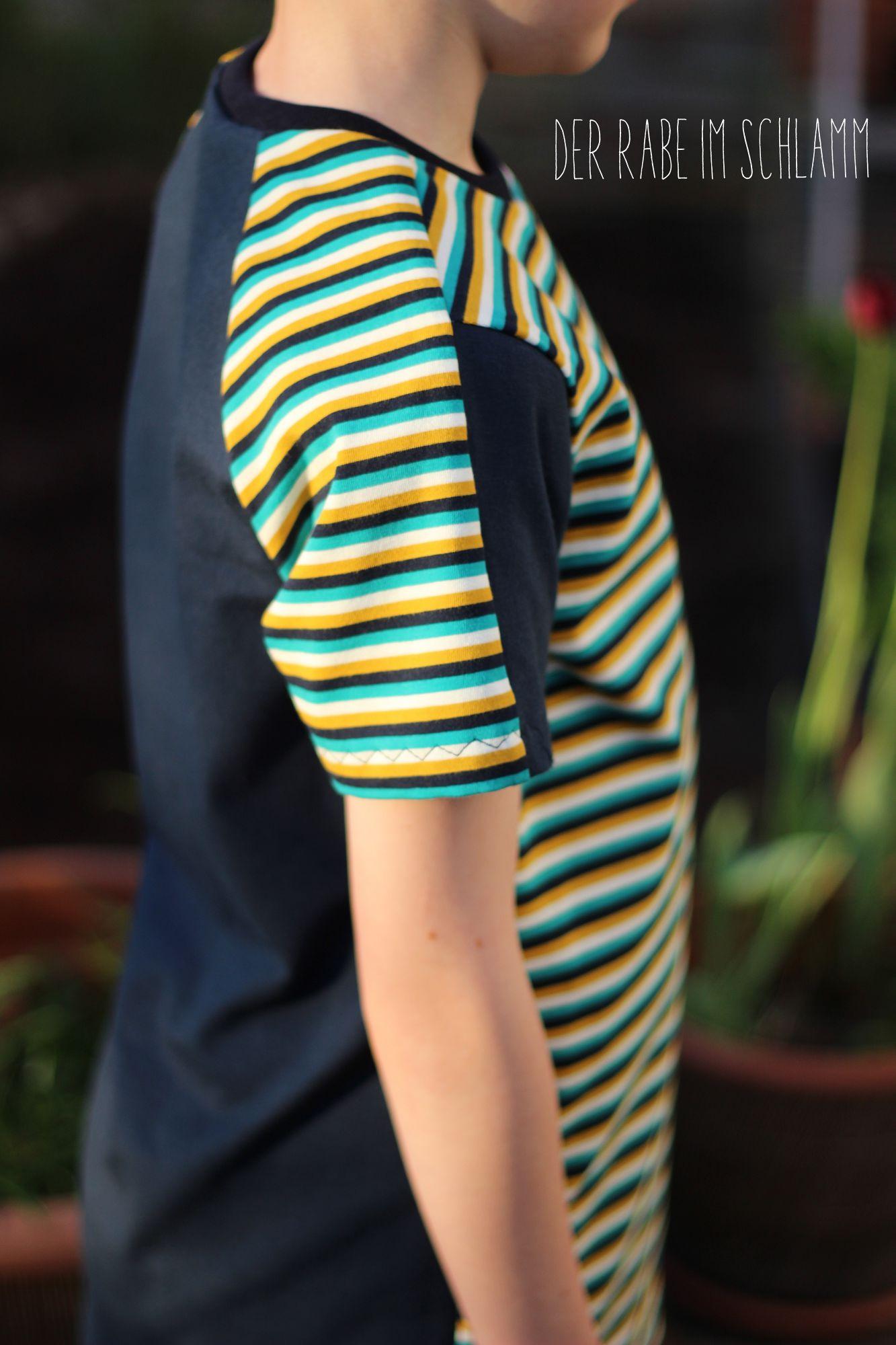 Der Rabe im Schlamm, Shirts, Schnittmuster, Kinder, Jungen, Ottobre, Nähen