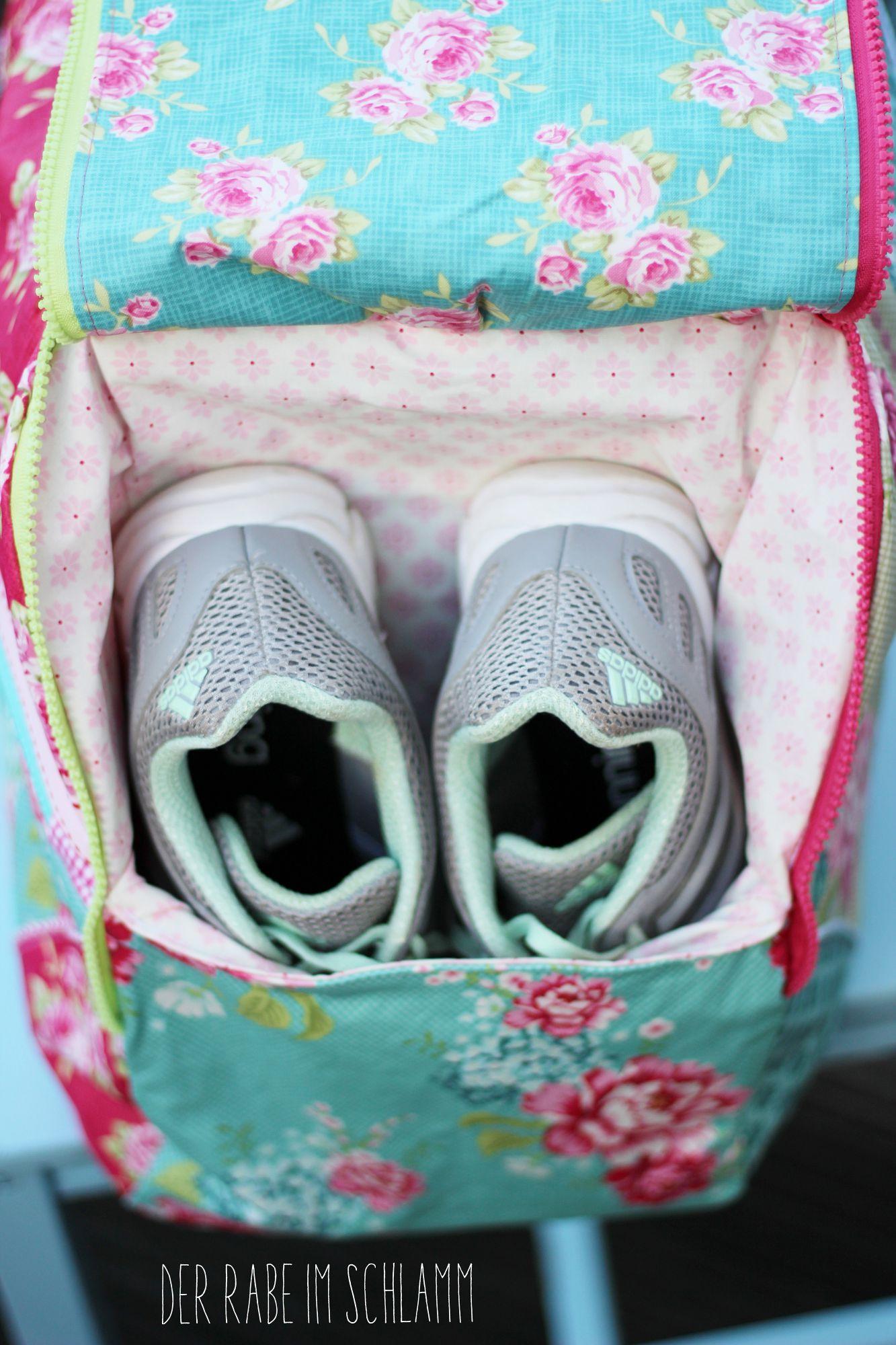 Sporty Weekend, Reisetasche, Der Rabe im Schlamm, Nähen, Taschen