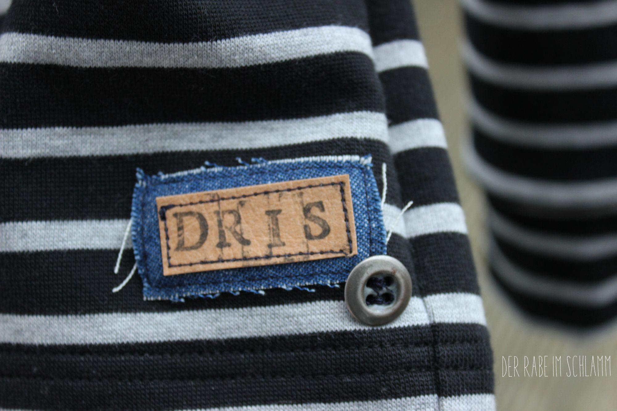 Der Rabe im Schlamm, Sweater, Oversize, Ringel, Stoff&Stil, Nähen, Schnittmuster, Damen