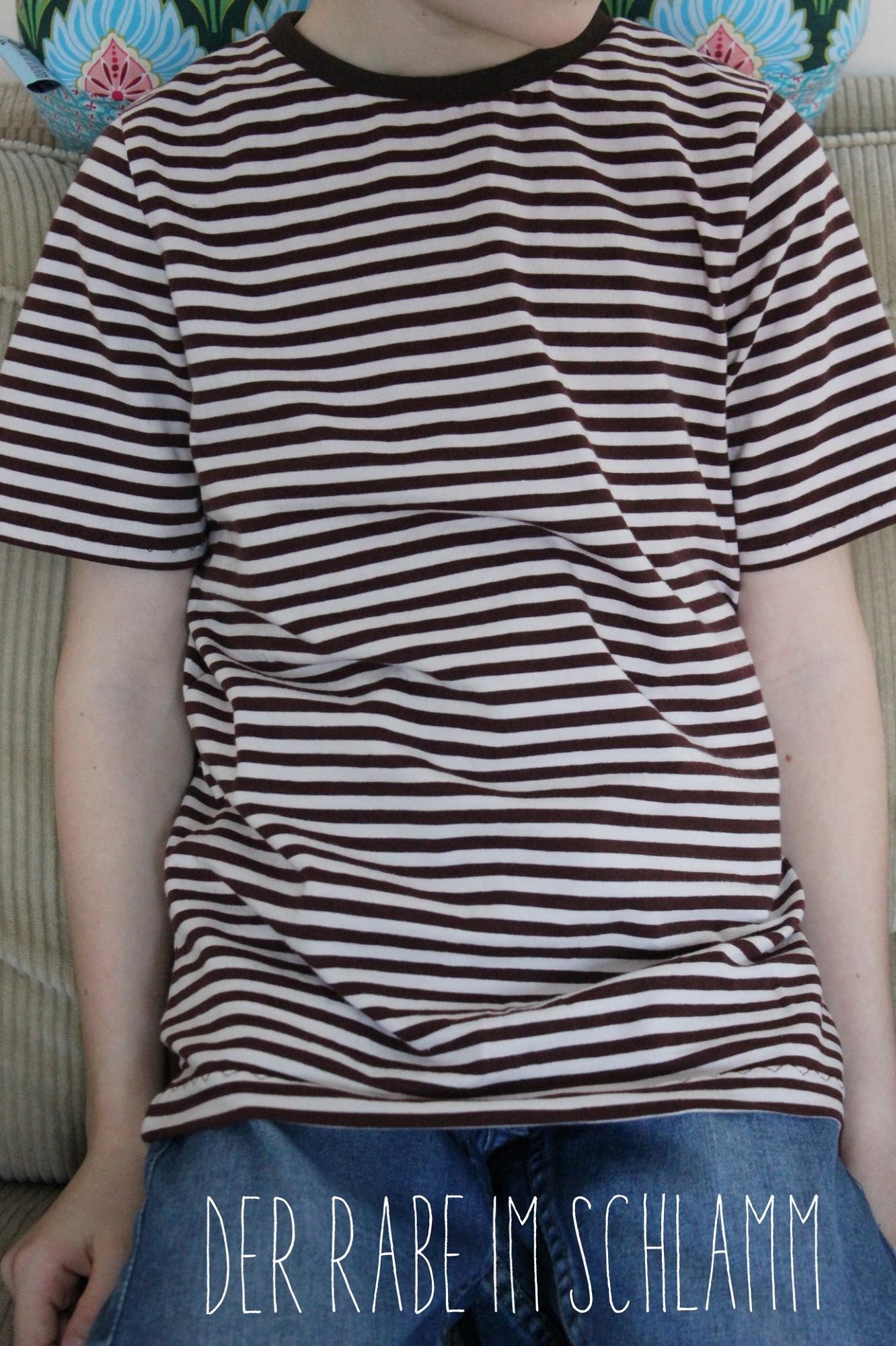 Tomboy, farbenmix, Shirt, Der Rabe im Schlamm, Nähen, Schnittmuster, Kinder, Jungen