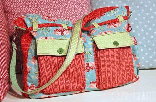 Wickeltasche, Der Rabe im Schlamm, Nähen, Taschen, Geschenk, Geburt