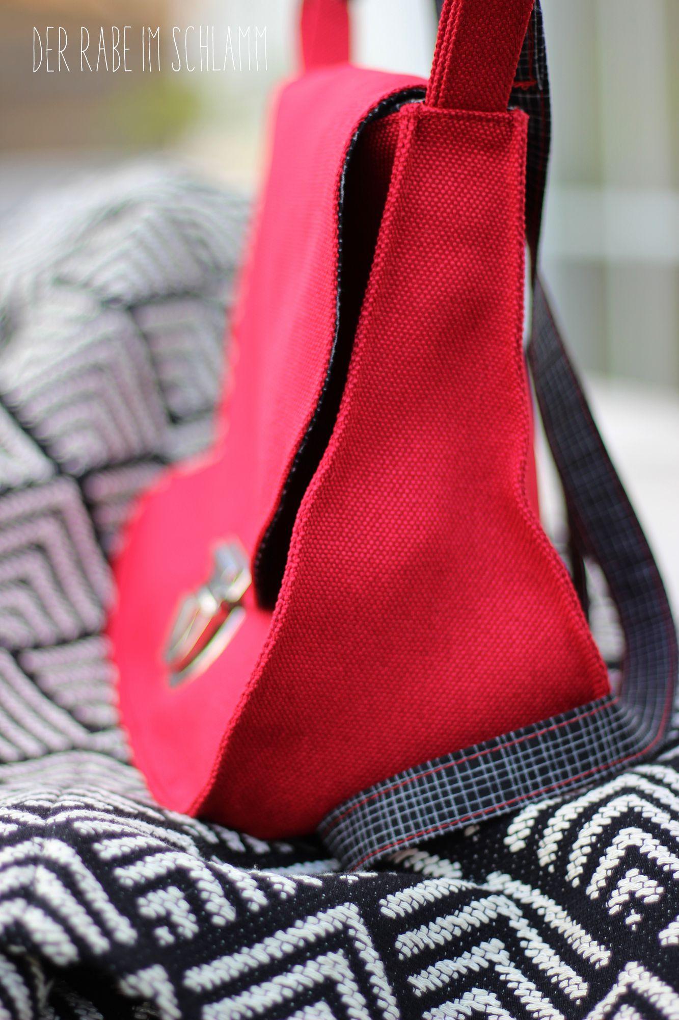 Der Rabe im Schlamm, Zirkeltasche, Taschenspieler 3, farbenmix, Nähen, Taschen